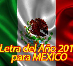 LETRA DEL AÑO 2014 PARA MEXICO