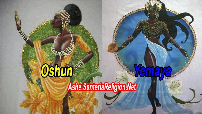 Oshun y Yemaya