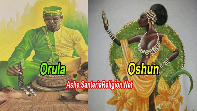 Orula-Oshun-Pataki