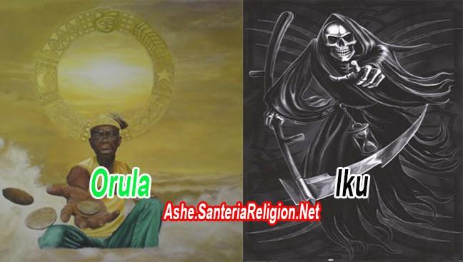 Santeria Religion Net Nuevo Pataki Orula Somete A Iku La